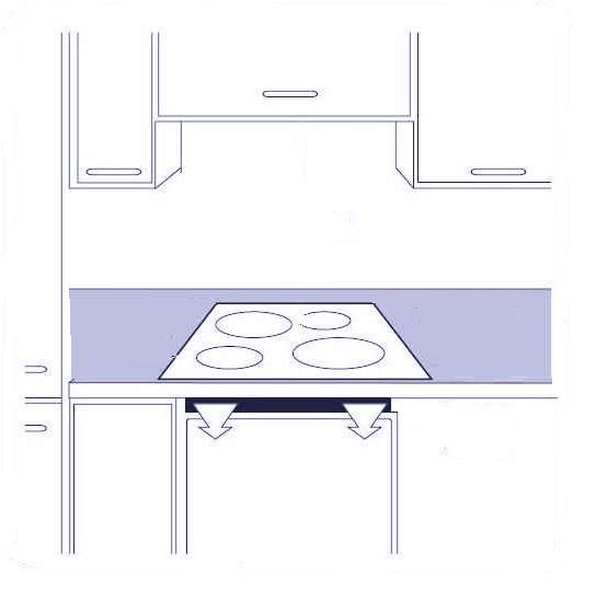 Зависимая варочная панель и духовой шкаф схема подключения
